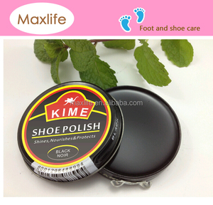 38g black/brown/neutral shoe polish wax,boot wax,shoe cream with tin packing