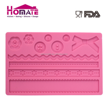 POP silicone fondant mold cake decorating stencils
