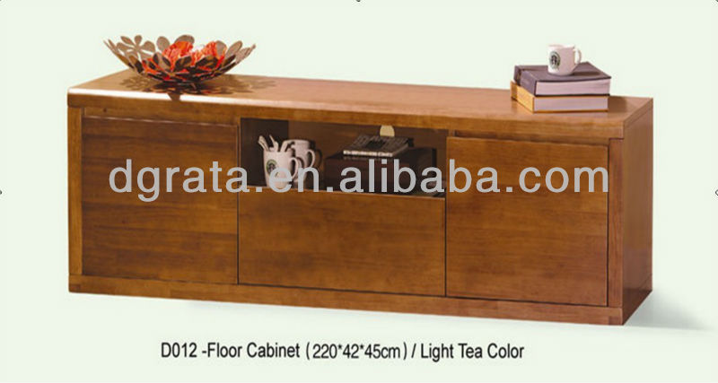 2013 new design wooden tv stand in solid wood is designed for living room