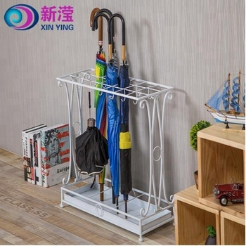 Home Hotel Lobby Office Use Wrought Iron Floor Umbrella Stand Buy