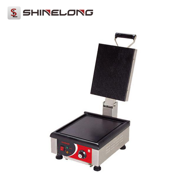 Commercial Quality Flat Griddle Sandwich Maker/Alloy Aluminium Heating Plate Panini Contact Grill K119
