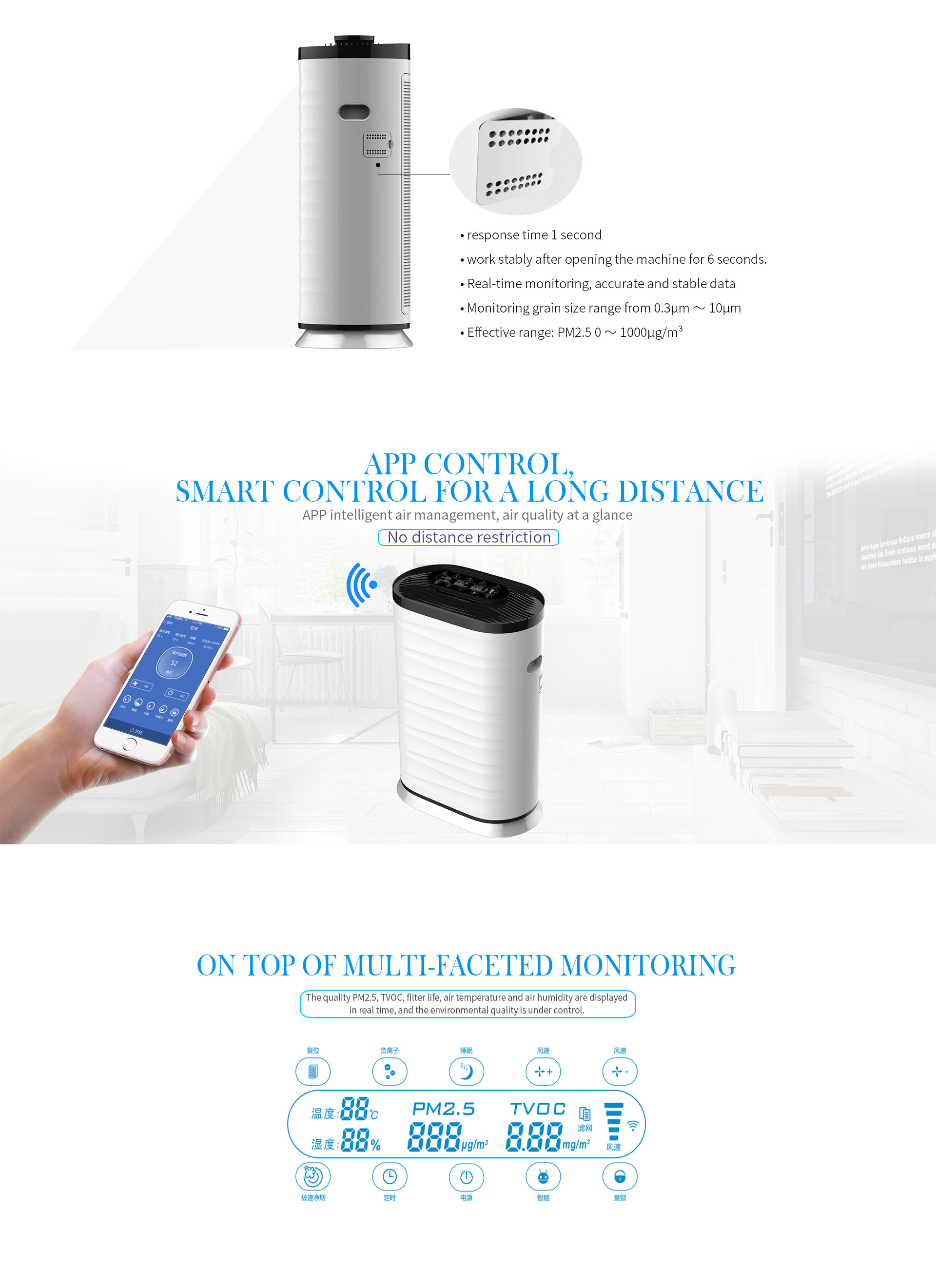 2018 Trending Products Made in China Scent Diffuser Machine / Aroma Humidifier / Portable Air Purifier