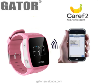 Brand Gator android smart watch, smart gps tracking watch, kids gps smart phone watch