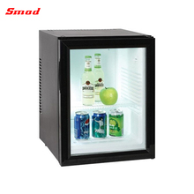 32L Home Glass Door Thermoelectric Hotel Mini bar Refrigerator