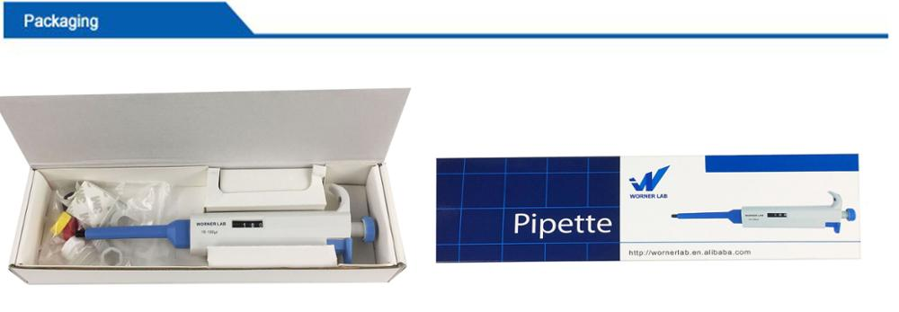 Sale NO.1 micropipette made in WORNER LAB Chinese Supplier