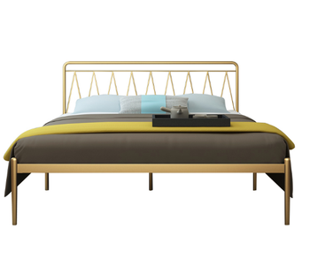 Creative Metal Bed wrought iron bed iron double bed design