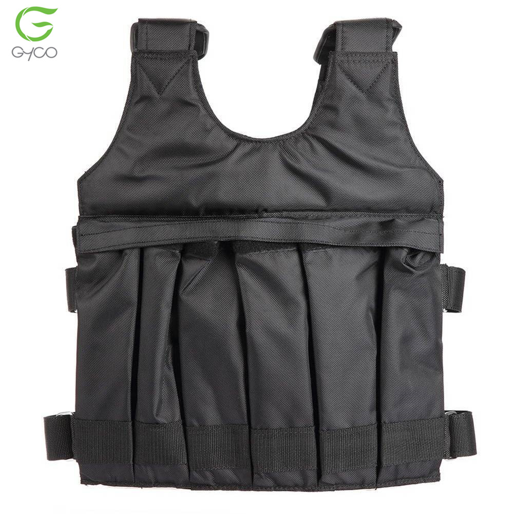 Body weights walking durable oxford fabric weighted workout vest