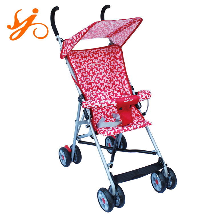 Best selling umbrella stroller china / simple baby stroller / height adjustable trolley
