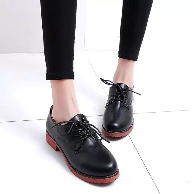 2771fabd4d Get Quotations · New Brand Designer Boots 2015 Summer/Autumn Women Vintage  British Style Lace Leather Oxford Shoes