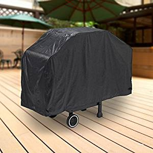 "North East Harbor Deluxe Waterproof Barbeque BBQ Grill Cover Small 44"" Length Black - 100% Waterproof Barbecue Propane Gas Grill Winter Storage Cover"