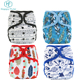 New Reusable Baby Infant Nappy Wizard Cloth Diaper Cover Washable Adjustable nappies