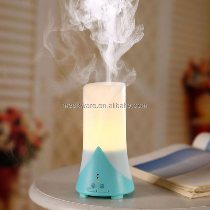 USB ultrasonic humidifier aroma humidifier essential oil diffuser with led light