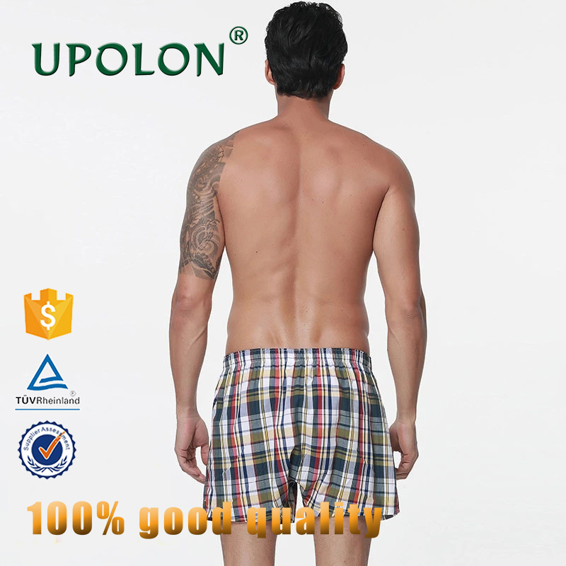 Upolon Hot Sale High Quality Cheap Mens Underwear Free Sample Manufacturing