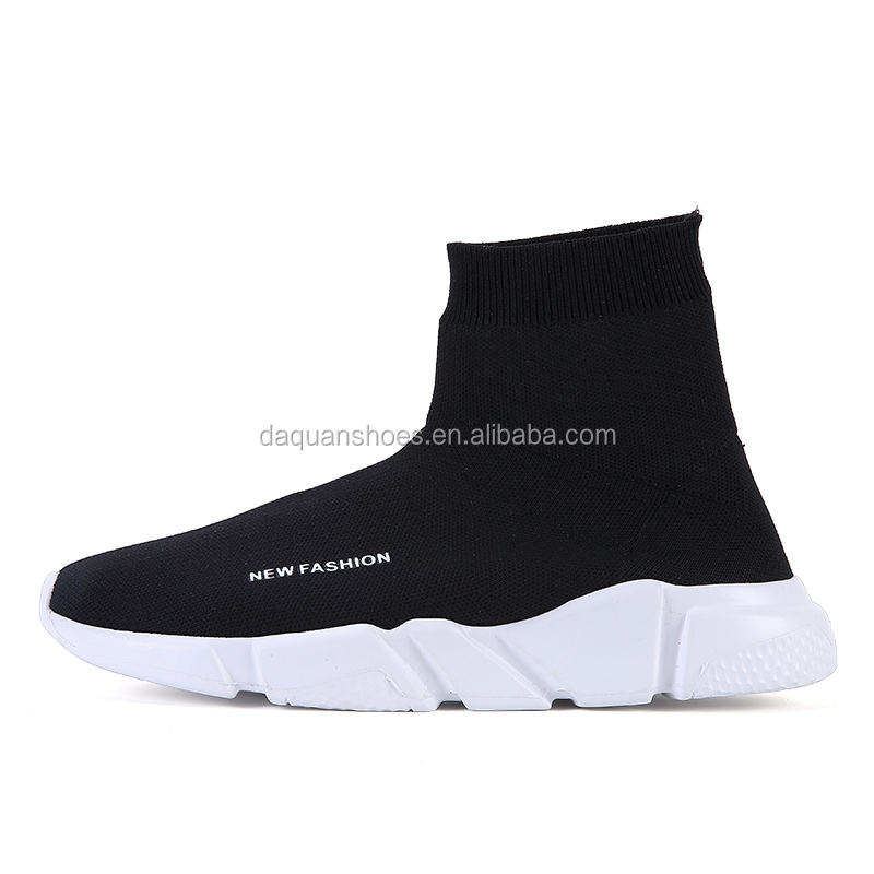 New design fashion casual shoes slip-on brand shoes high top sneakers for men and women