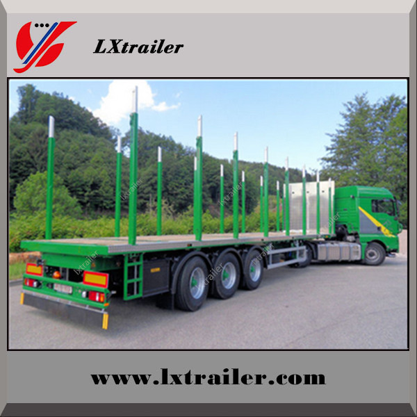 New flat pack container tractor truck trailer