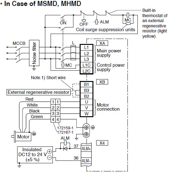 100w Panasonic Ac Servo Motor Driver Madht1505 / Madht1505ca1 - Buy ...