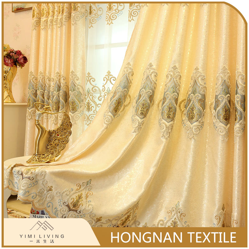 Factory supplier designer new blackout luxury hotel curtains for window