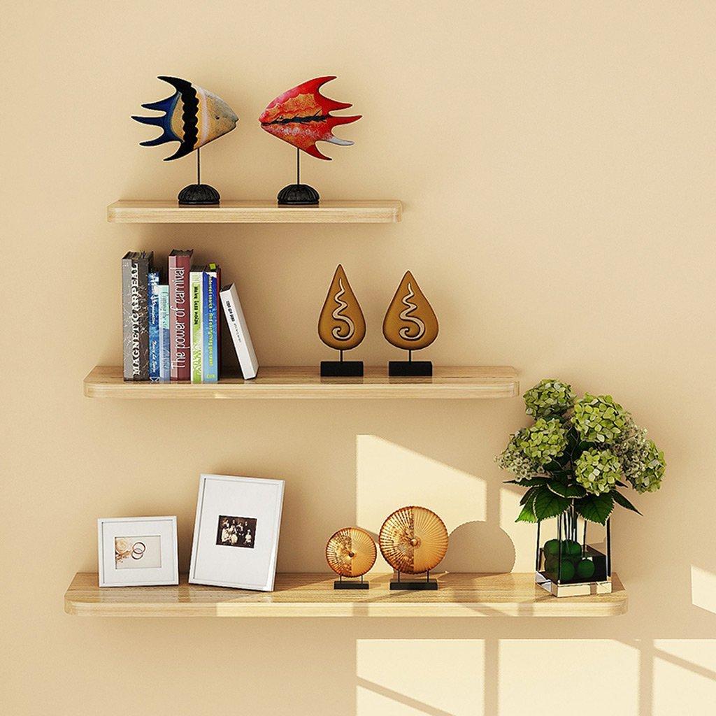 Shelves 3PCS ,1 Set Wall Floating Board Shelf Storage Shelves Bookshelf Shop Display, White
