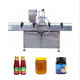 Double head pneumatic bottled tomato paste filler ketchup sauce packing machine honey filling machine