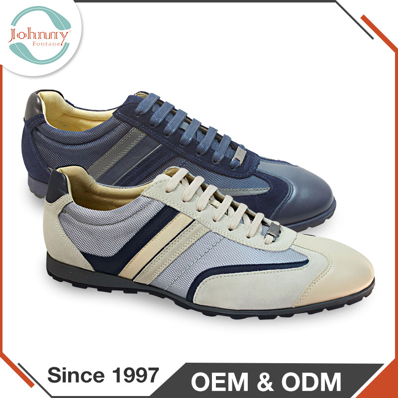 2017 China Manufacturers New Style Young Fashion Shoes For Men