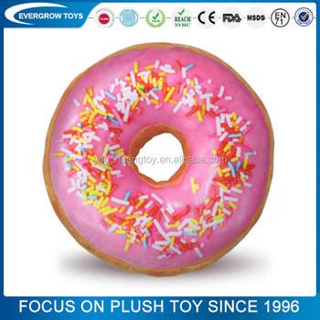 Großhandel Benutzerdefinierte Donut Kissen Cookie Monster Plüschtier