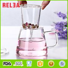 RELEA hot promotion 350ml Stocked drinkware glass tea cup