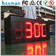 window 7 handheld computer outdoor led clock /time /date /temperature sign