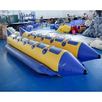 10 Persons Ocean Rider Inflatable Banana Boat With 2 Tubes For Sale