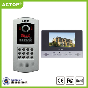Simple Operation For Home Door Intercom System Support Multi ...