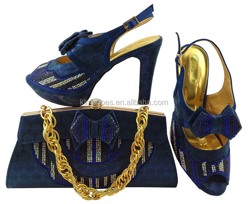 3abe7106494d5e Fashion Women Italian Matching Shoe And Bags Set High Quality African  Wedding Shoe And Bag Shoe And Bag Set With Stone MM1038