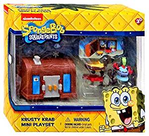Buy Spongebob Squarepants Krusty Krab Mini Playset in Cheap