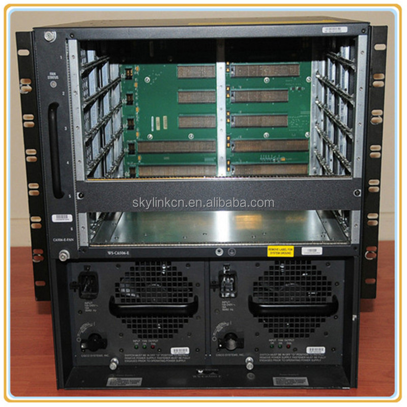 New 6500 Chassis WS-C6506-E good price ready to ship
