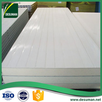 DESUMAN cheap price 50mm pu polyurethane sandwich wall panel
