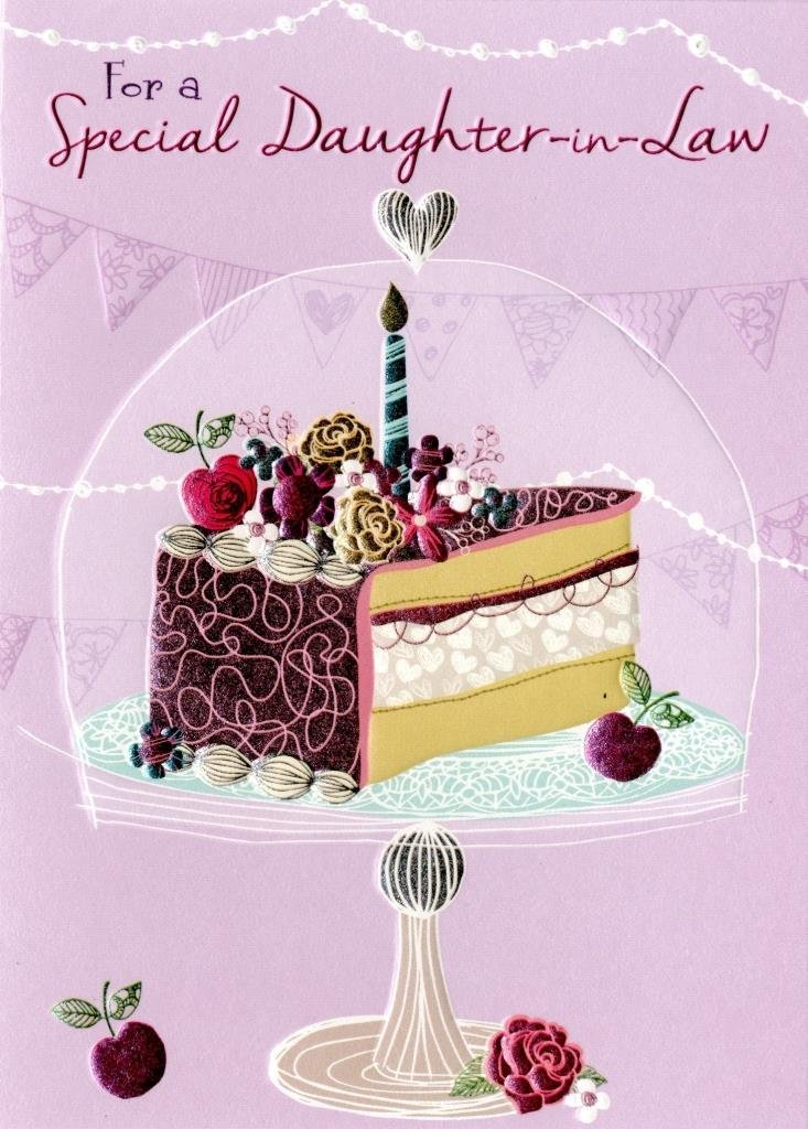 Get Quotations Special Daughter In Law Birthday Greeting Card Second Nature Daydreams Cards