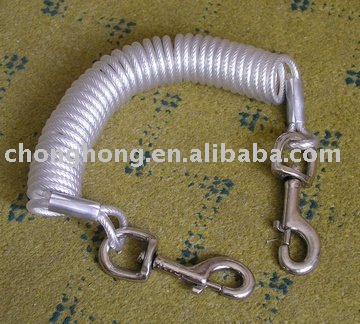 Tie Out Cable ,Made of Stainless Steel or Galvanized Steel