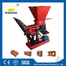 alibaba china~ ECO BRAVA small scale production line manufacturers / manual block making machine