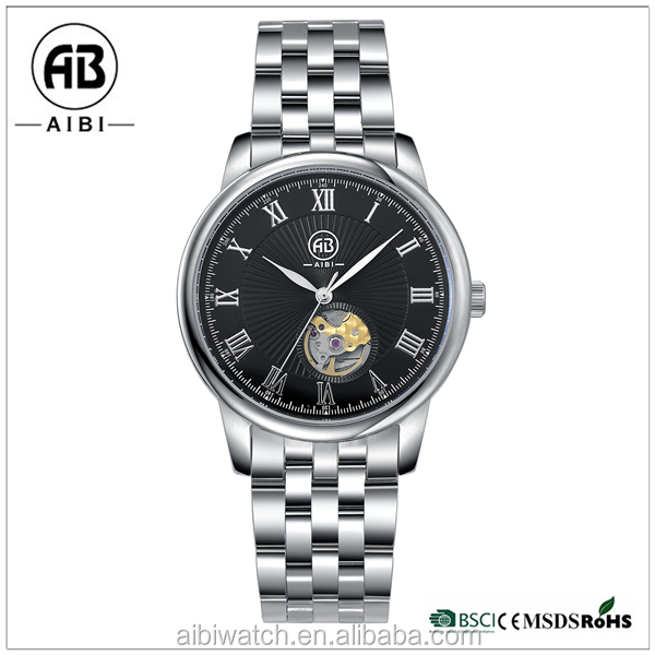 2017 New Product Fashion Stainless Steel Jewelry AIBI Watch with waterproof resistance