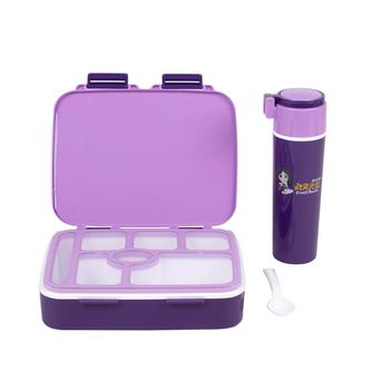 1140/350 mL 7 compartment leakproof kids insulated lunch box,bento box for kids with drinking cup