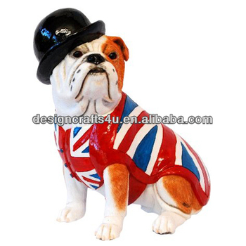 Whole English Bulldog Statue For