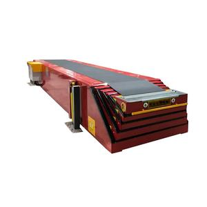 Telescopic Belt Conveyors / Extendable Conveyor Used for Loading Truck