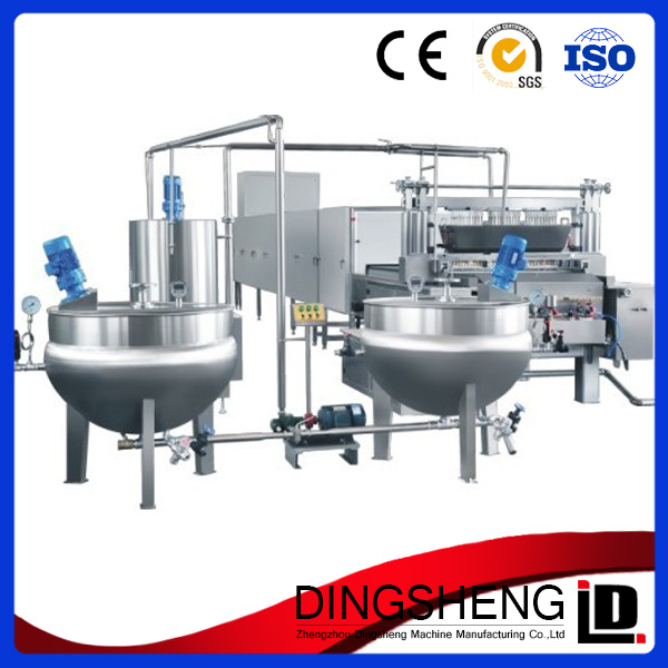 Good quality small jelly candy making machine