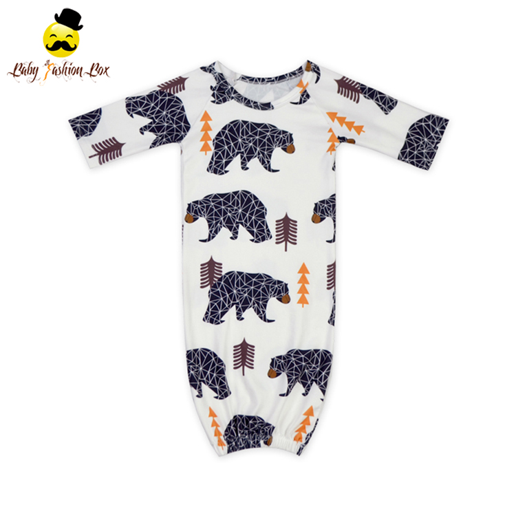 High Quality Cotton Cute Animal Baby Sleeping Bag For Newborn Baby