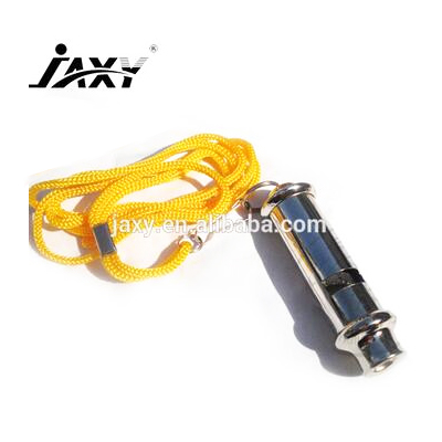 JAXY emergency survival whistle with lanyard Metal police metal Whistle dog Whistle