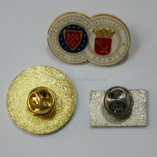 New design personalized double fusion badges/high quality cap lapel pin badge/unique lapel pin badge for promotion