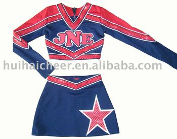 2018 Cheerleading uniformes, trajes animadora