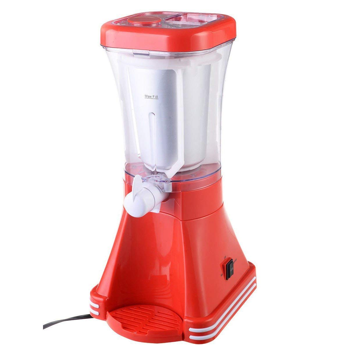 Giantex Slush Drink Maker Retro Machine Blender Ice Slushie Margarita Slurpee Frozen