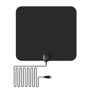 Thin Flat Indoor TV Antenna Digital Indoor TV Antenna For TV Channel