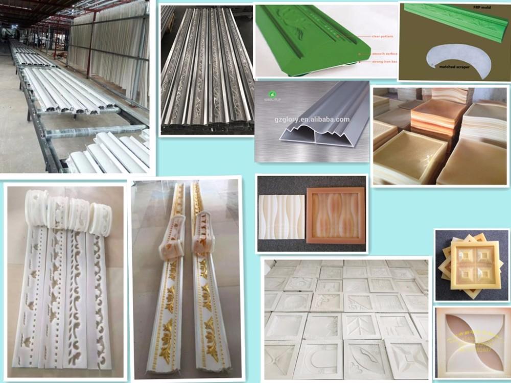 Glory Fiberglass Reinforced Plastic Gypsum Cornice Mold