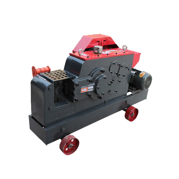 automatic rebar cutter 6-28mm round steel bar cutter electric rebar cutting machine