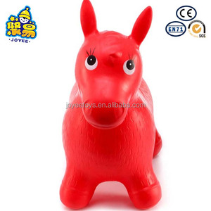 Wholesale PVC inflatable bouncy kids toy jumping horse